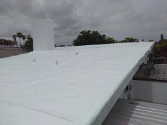 Roof Shrinkwrapped by Usa Shrinkwrap Call Us 954 616 5810