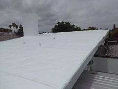 Roof Shrinkwrapped by Usa Shrinkwrap Call Us 954 616 5810